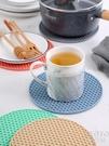 隔熱墊 餐桌墊創意隔熱墊北歐耐高溫硅膠防燙碗墊子家用廚房鍋墊盤墊杯墊 京都3C