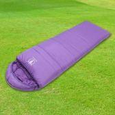 【APC】馬卡龍秋冬可拼接全開式睡袋-葡萄紫