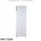 惠而浦【WIF1193W】193公升直立式冰櫃冷凍櫃