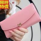 女用真皮短夾錢包精緻簡單-魅力限量韓國皮包10色53q9【巴黎精品】