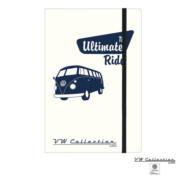 VW Brisa老福斯-T1 Bus 筆記本-The Ultimate Ride