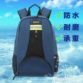 工具包雙肩包男士維修電工工具包帆布多功能家電維修雙肩背包     琉璃美衣