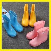 兒童雨鞋男女童防滑寶寶雨鞋