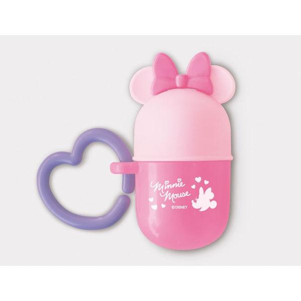 Disney用品配件 JAN-360295 米妮 顆粒零食收納罐(圓盒)-粉 【STDI020011007】