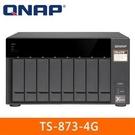 【綠蔭-免運】QNAP TS-873-4...