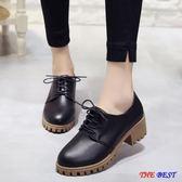 [百姓公館] 小皮鞋 厚底 中跟 粗跟 休閒鞋
