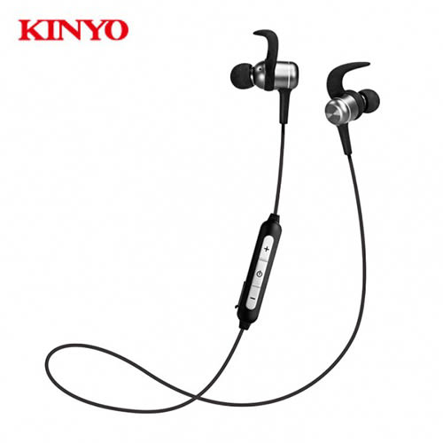 KINYO藍牙吸磁頸掛式耳機BTE-3740【愛買】