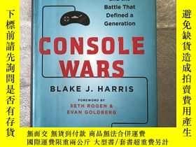 二手書博民逛書店Console罕見Wars:Sega, Nintendo, An