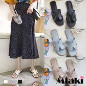 拖鞋.韓國時尚平底涼鞋
