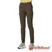 【wildland 荒野】女 彈性抗UV機能長褲『摩卡色』0A91321 戶外 休閒 運動 露營 登山 吸濕 排汗 快乾