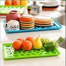 瀝水盤 置物盤 水果 餐具 裝飾 廚房 時尚 收納 盤子 瀝水 裝飾盤 【創意巴巴】