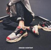 降價兩天-潮鞋18新品男士運動鞋正韓潮流學生跑步鞋原宿bf風休閒鞋