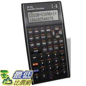 [美國直購 現貨1] 惠普 科學計算器 HP 35s Scientific Calculator F2215AA  (_T16)