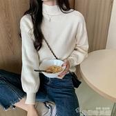 高領打底衫 半高領打底衫女秋冬內搭長袖毛衣針織衫2021年新款修身百搭上衣潮 韓國時尚週