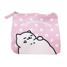 粉紅色款【日本進口正版】貓咪收集 零錢包 面紙包 收納包 卡片包 Neko atsume - 427839