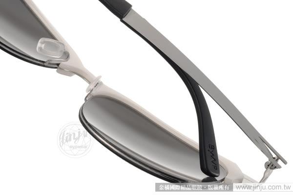 ByWP 太陽眼鏡 BY15201 CSM (白-槍銀) 德國薄鋼 率性水銀鏡面款 # 金橘眼鏡
