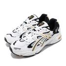 Asics 休閒鞋 Tiger Gel-Kayano 5 OG 白 黃 黑 男鞋 女鞋 復刻 老爹鞋 運動鞋【PUMP306】 1021A163100
