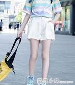 女童短褲夏季薄款2021兒童夏裝夏天外穿白色女孩牛仔褲中大童褲子 蘇菲小店