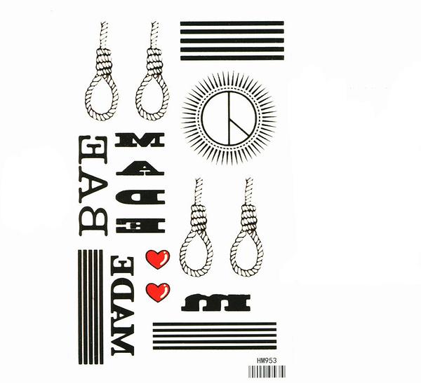 薇嘉雅  MADE  紋身貼紙 HM953