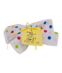 美國Baby Paper寶寶響紙安撫方巾 彩色波卡