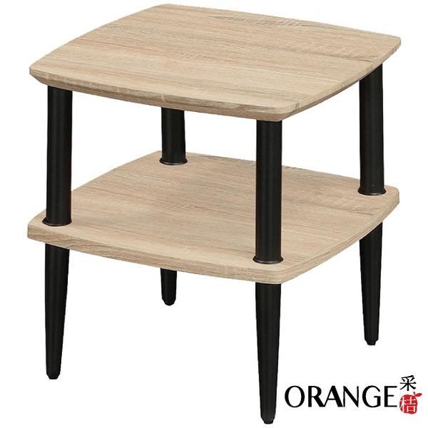 【采桔家居】開羅 現代風1.3尺二層置物架/玄關桌