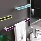 毛巾架免打孔衛生間浴室置物架北歐簡約創意擦手巾收納架抹布掛架快意購物網