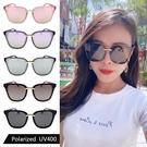 時尚歐美偏光墨鏡 大框顯小臉 網紅款 Polarized墨鏡 高品質太陽眼鏡 抗紫外線UV400