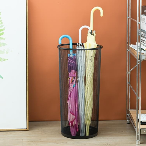 創意雨傘架書畫置物架公司落地雨傘瀝水架雨傘收納桶【聚寶屋】