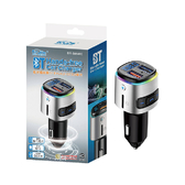 BRUCE 藍芽播放器TF卡+V4.2+QC3.0車充 BR-588400