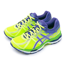 LIKA夢 Asics 亞瑟士專業慢跑鞋 GEL-CUMULUS 17 螢綠紫 T5D8N-0733 女