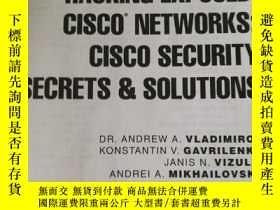 二手書博民逛書店hacking罕見exposed Cisco security