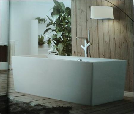 【麗室衛浴】BATHTUB WORLD  一體成型無邊縫 壓克力獨立缸 D-008 180*85*60CM