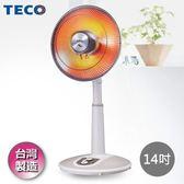 【TECO東元】14吋碳素電暖器 YN1406AB