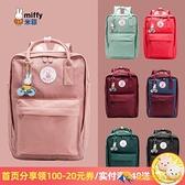 後背包雙肩包女日韓版潮時尚百搭學生書包帆布小背包