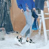 淺藍小直筒修身牛仔褲【1919100708】