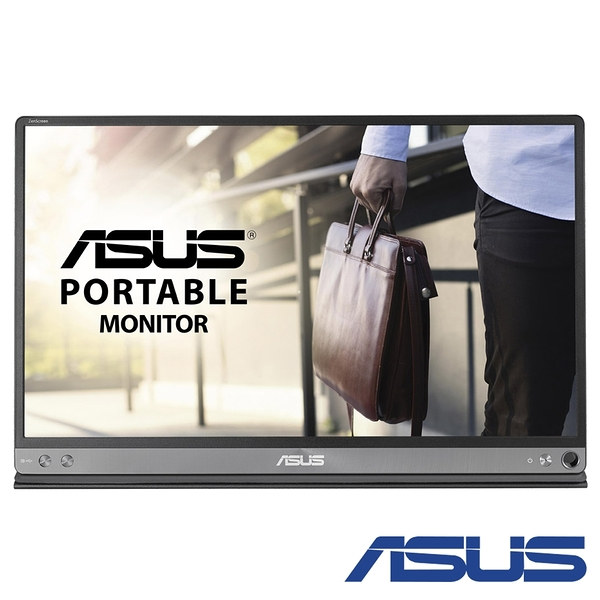 ASUS MB16AH 15.6吋IPS可攜式螢幕【刷卡含稅價】