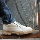 勞保鞋 勞保鞋男士輕便防臭鋼包頭防砸防刺穿老保電焊工專用工作夏季透氣 『美鞋公社』