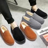 懶人鞋-豆豆鞋保暖鞋加厚加絨老北京布鞋懶人鞋學生韓版 夏沫之戀