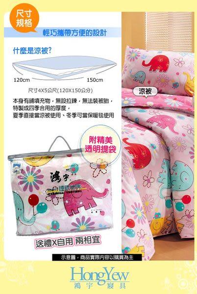 鴻宇HongYew 城市的異想空間4X5防蹣抗菌純棉兒童涼被  台灣製造