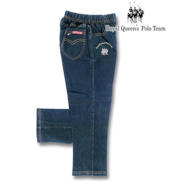台灣製素色彈性薄款牛仔褲 RQ POLO 中大童秋冬款[206]