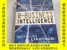 二手書博民逛書店e-Business Intelligence Turning罕