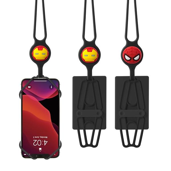 【BONE】頸掛手機綁2代-卡套版-漫威角色款