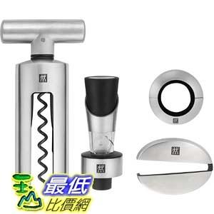 [美國直購] Zwilling 39500-054 J.A. Henckels 4-pc Sommelier Stainless Steel Wine Tool Set 工具組
