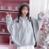 降價三天-冬季衛衣女韓版潮學生寬鬆bf風ulzzang長袖加絨加厚ins超火的外套