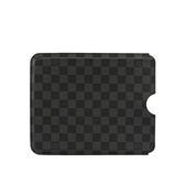 【LV】 棋盤格 IPAD 專用 保護套 (黑灰) N60033