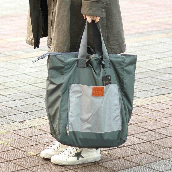 正韓 KR DAAD 共兩色 正韓空運 DAAD超輕量購物包 尼龍收納袋 購物袋 旅行袋【FuLee Shop 服利社】