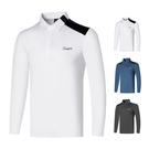 高爾夫 高爾夫服裝男士上衣長袖POLO衫 款高爾夫長袖T恤男士運