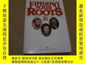 二手書博民逛書店finding罕見your rootsY17081 出版1988