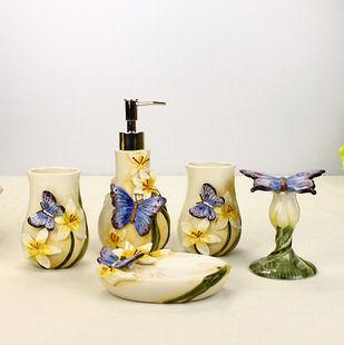 歐式陶瓷衛浴五件套