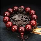 野生印度小葉紫檀手串滿金星2.0拆房老木料高密度108佛珠手鍊